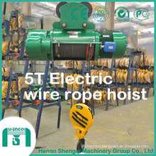 Hb Model Explosion Proof Wire Rope Electric Hoist 5 Ton
