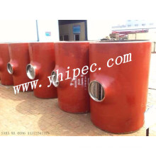 Carbon Stahl Stumpfnaht nahtlose Reducer Tee