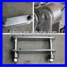 Cadena de rodillos de acero inoxidable 316/304