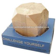 Квадратные деревянные головоломки,интеллект деревянные головоломки,представьте себе деревянные головоломки