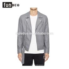 2018 nova jaqueta de couro homens moda moto casaco de manga longa 2018 nova jaqueta de couro homens moda moto casaco de manga longa