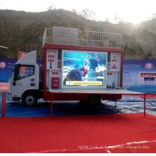 JAC fogo Propaganda LED publicidade caminhões à venda