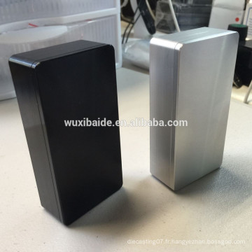 Usinage cnc boîtier en aluminium / boîtiers en aluminium moulé / cnc usinage de tours en aluminium