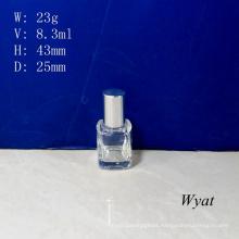 10ml Square Glass Nail Polish Bottles Gel Empty Nail Polish Glass Bottle