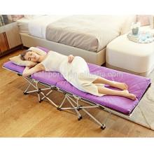 Mini Cheap Folding Mattress Camping Bed Portable Folding Steel Bed