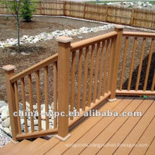 Durable of Hings wpc railing