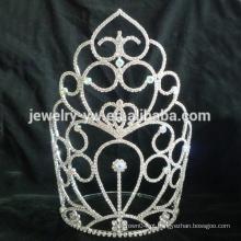 Custom pageant crown para venda