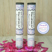 PINK or BLUE confetti Perfect for gender reveal Party Poppr