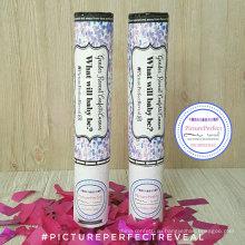 Розовый или синий конфетти идеально подходит для гендерного раскрыть вечеринки Poppr