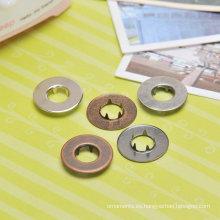 botones terminales metálicos