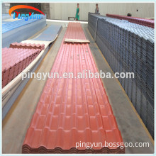 ASA PVC Coated Synthetic Resin Roof Tile /Panel/Sheet for houses