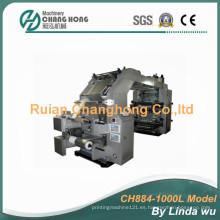 Máquina de impresión flexográfica de la hoja de aluminio (CH884-1000L)