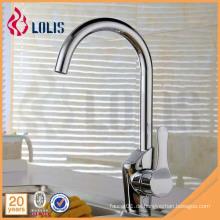 China Lieferant Einhebel Messing Küchenspüle Wasserhahn Mischer
