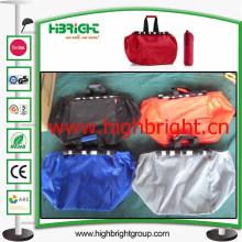 Faltbare Polyester Trolley Einkaufstasche