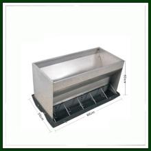 Alimentador automático del cerdo Alimentador doble del lado del acero inoxidable para el cerdo