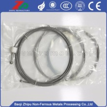 Best-selling 99.95% purity tungsten wire rope