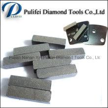 Quadratisches nasses trockenes benutztes Diamant-Terrazzon-Betonstein-Boden-reibendes Segment