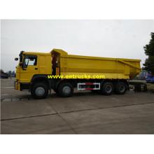 25 Ton 8x4 Sealed Garbage Dump Trucks