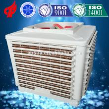 Protección del medio ambiente Mini refrigerante de aire de descarga superior para gallinero