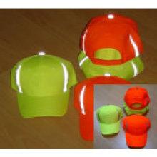 Светоотражающие бейсбольные шапки с отражающей лентой Hi Viz