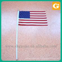 drapeaux de pays pour les voitures Petit drapeau tenu dans la main pour tous les pays