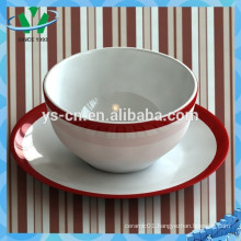 Elegant decal Soup Bowl,Ceramic Bowl Wholesale