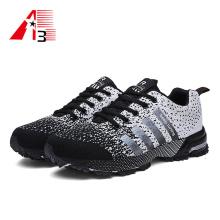 Nuevo estilo Fly knit Shoes calzado deportivo transpirable