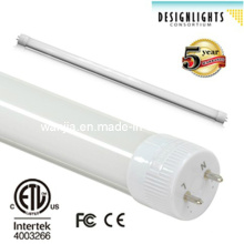 10W / 12W / 18W / 22W / 36W / 45W High Lumen T8 LED Tube Light avec ETL & Dlc