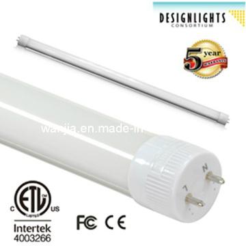 10W / 12W / 18W / 22W / 36W / 45W High Lumen T8 LED Tube Light avec ETL & Dlc