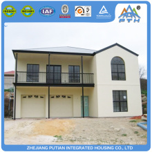 Malaysia beautiful appearance Galvanized Light Steel Structure modular house