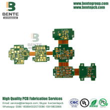 China Gold Supplier for Rigid Flex High-precision Rigid-flex 4Layers PCB ENIG export to United States Importers