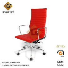 Silla de Eames de cuero de diseño moderno (GV-EA219)