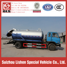 Dongfeng 153 Vacuum Sewage Suction Truck High Pressure