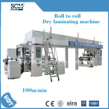 High Speed Plastic Film PE Coating Machine