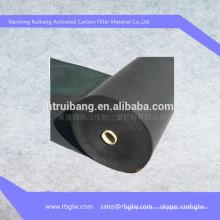 filtro de tecido de fibra de carbono filtro de rolo de carbono