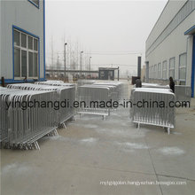 China Wholesale Galvanized Traffic Barrier/Crowd Control Barrier (Manufacturer/China supplier/ISO)