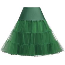 Grace Karin mediana falda de orquídea enagua enagua crinolina para vestidos de época CL008922-19