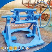 Uncoiler hydraulique de bobine de tôle d'acier de couleur automatique / decoiler de bobine de ppgi fabriqué en Chine