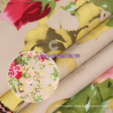 Noble Flower Patterns 250GSM Woven Fabric Canvas