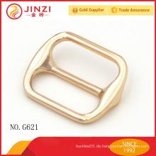 25mm glänzende Gold Farbe Handtaschen Hardware Tasche Schnallen mit guter Qualität