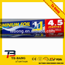 chemical composition aluminum foil