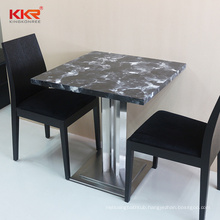 Luxury Acrylic Home Living Tables Hotel Project Artificial Stone Tea Table