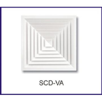Aluminium wirbelnden Decke Luftverteiler für HVAC