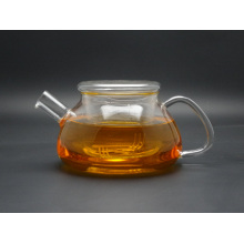 2015 Heat Resistant Elegant Glass Teapot/ Infuser Flower/Green Tea Pot 1000ml Size