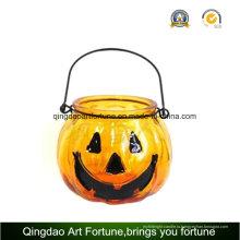 Хэллоуин стекла Jar свеча для Рождества украшения