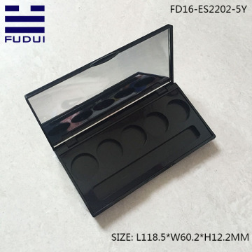 Luxury cosmetics eyeshadow palette powder case wholesale