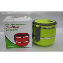 Calentador térmico de dos capas / caja de almuerzo