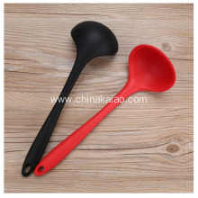 High Temperature Resistance Kitchen Tool Silicone Soup Big Spoon