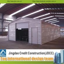Einfache Installation Prefab Stahl Garage