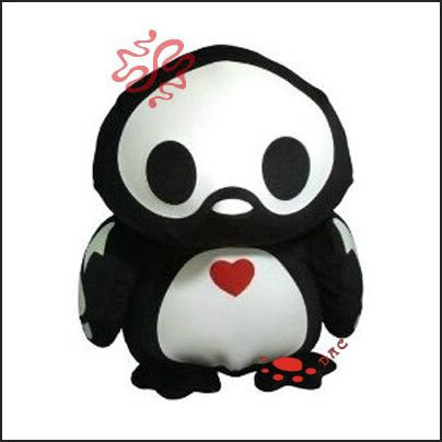 penguin cartoon plush